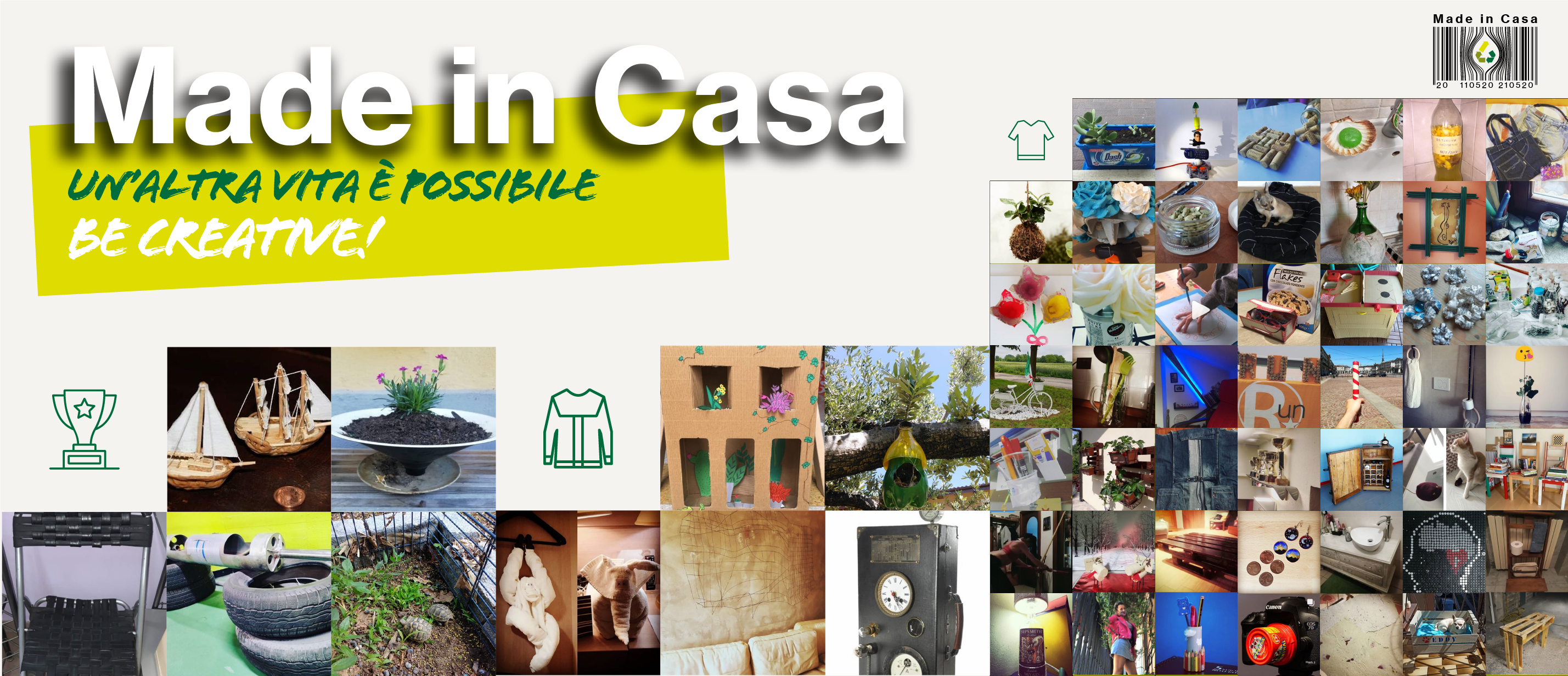 Made in Casa 2020 - i vincitori del contest