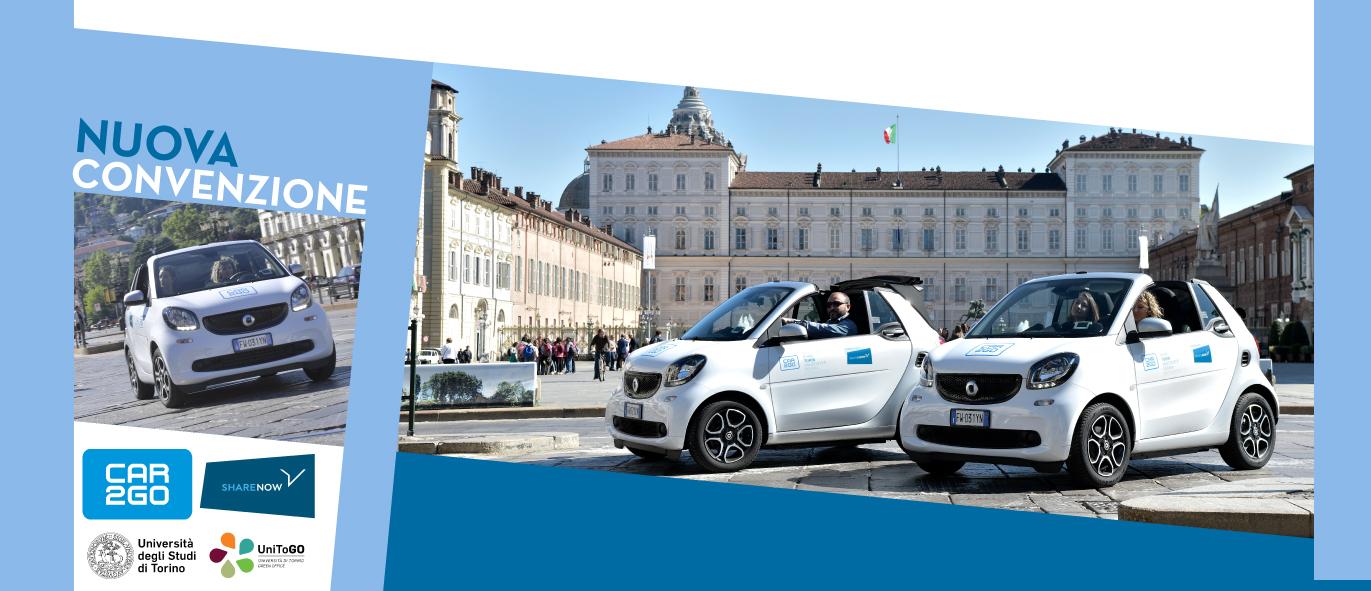 Convenzione di Ateneo con car2go-Sharenow