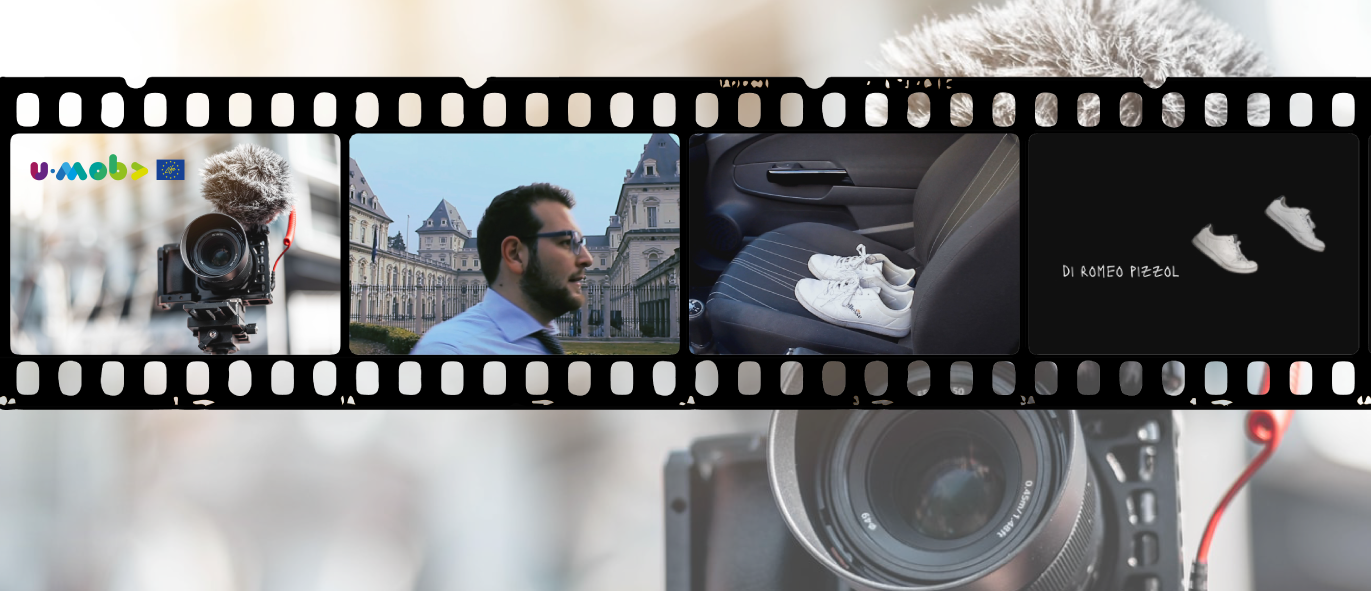 Romeo Pizzol con Il cambiamento prende piede, vince il concorso video U-MOB